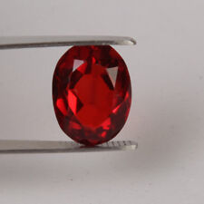 10.50 Ct. Red Garnet Oval Loose Gemstone Rhodolite Gem Jewelry Ring Use