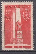 FRANCE TIMBRE  N° 395 * MONUMENT GLOIRE SERVICE SANTE MILITAIRE LYON