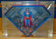 HOT TOYS SUPERMAN MMS152 - SIDESHOW EXCLUSIVE - CHRISTOPHER REEVE - AFA GRADED