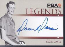 2008 PBA Bowling Autograph Legends Dave Davis