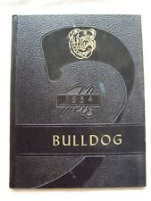 1954 PRIMERO HIGH SCHOOL YEARBOOK  SEGUNDO, COLORADO  BULLDOG