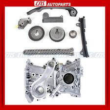 Timing Chain Kit & Oil Pump For 00-06 Nissan Sentra XE & GXE 1.8L QG18DE Engine