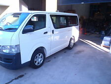 Toyota Hiace compaible Van Fixed Rear Windows All About Vans at Chipping Norton