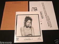 CHEROKEE 'I LOVE YOU…ME' 1999 PRESS KIT--PHOTO