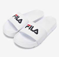 New FILA Drifter Slipper Flip Flop Slide Sip Limited Edition White US Size 4-10