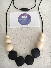 Silicone Sensory Necklace for Mum Gift Beads Modern Aus (was Teething) baby