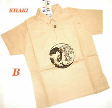 Unbranded Short Sleeve Casual Shirts (2-16 Years) for Boys
