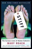 STIFF by Mary Roach a paperback book FREE USA SHIPPING Human Cadavers