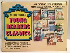 Box Set Of 12 Illustrated Young Readers Classic Book Set Vintage And Rare