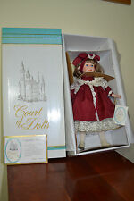 Nicole~Court of Dolls!~Porcelain~Hand Painted~By Jenny~#532 out of 2000~18""