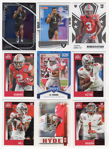 30 Different Ohio State Buckeyes College Uniform Football Cards; 1991-2020
