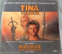 Tina Turner - We Don't Need Another Hero (Thunderdome) + Instrumental (1985)