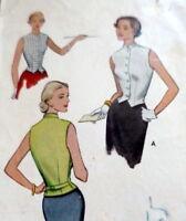 LOVELY VTG 1950s WESKIT McCALLS Sewing Pattern 14/32