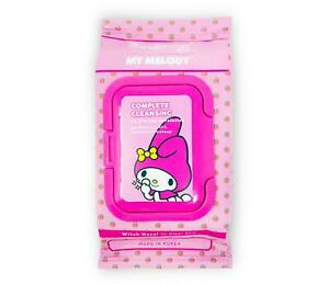 The Creme Shop: Sanrio My Melody 20 Pre-Wet Towelettes Make Up Cleansing Wipes