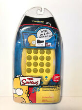 TIGER GAMES ~THE SIMPSONS ~ SEZ SOUND MATCHING GAME ~ HASBRO ~ 2003 ~ NEW