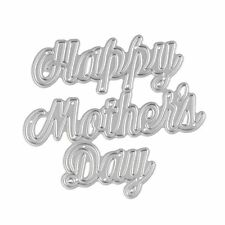 Cutting Dies Metal Stencils Embossing For DIY Scrapbooking Happy Mother's Day