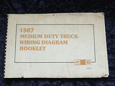 other car & truck manuals & literature for chevrolet ebay wiring diagram for 1996 gmc pickup truck 1987 gmc chevrolet medium duty truck wiring diagrams