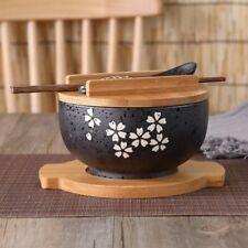 Japanische SchüSsel Instant Nudeln Geschirr Essen Zimmer Geschirr Salat Ker X7P6