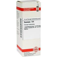 DAMIANA D 6 Dilution 20 ml PZN 2612724