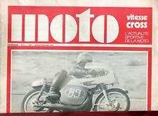 HEBDOMADAIRE MOTO VITESSE CROSS N°21. 1970.