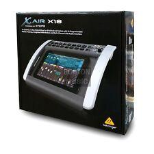 Behringer X18 X AIR Compact 18-Input Digital iPad/Tablet Mixer 110-240V