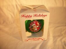 Vintage Campbells Kids 1995 Collectors Edition Christmas Ornament Green