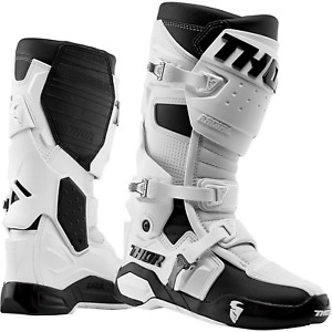 THOR 2021 RADIAL WHITE BOOTS FROM MOTOGO