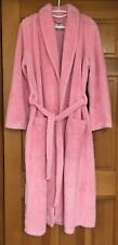 GAP BODY Full-Length Fuzzy Pink Robe Women's Size M