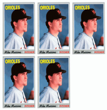 (5) 1992 Baseball Card Monthly #77 Mike Mussina Baseball Card Lot Orioles