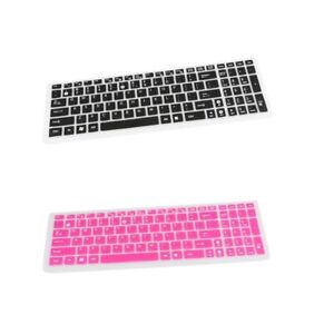 2Pcs Ultra Thin Keyboard Cover Silicone Skin Protector Film for ASUS Laptop