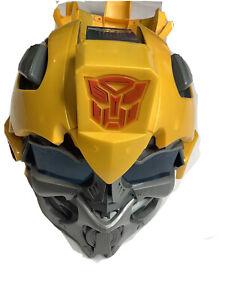 Transformers Bumblebee Talking Voice Changing Helmet Mask Hasbro Works