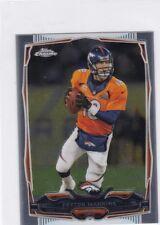 Peyton Manning 2014 Topps Chrome Mini , Sammelkarte