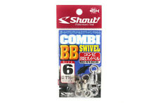 Shout 413-CB Combi BB Swivel with Split Ring Combo For Jigging Size 6 (2037)