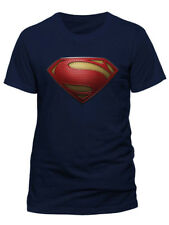 Justice League Logo Superhero Crest Official DC Comics T-shirt