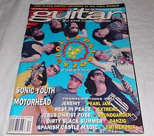 Guitar Magazine Back Issue December 1992 Lollapalooza Pearl Jam Sonic Youth