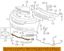 Chevrolet GM OEM 14-16 Impala Front Bumper Grille-Lower Deflector 22990242