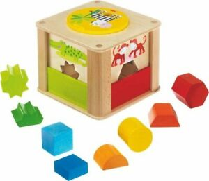 HABA Zookeeper Wooden Shape Sorting Box with a Twist