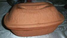 Romertopf #111 Terra Cotta Clay Baker Baking Bread Roaster Unglazed