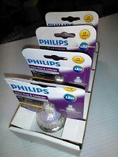 Philips Classic Glass MR16 GU5.3 LED Floodlight Light Bulb 620Lumens (4 Pack)