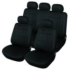Auto Sitzbezug Sitzbezüge Schonbezüge PEUGEOT 206 CC SW 207 CC 307 schwarz 7204