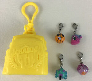 Charm U Yellow Backpack Clip On With 4 Mini Charms Collect Wear Share 2016 Cepia