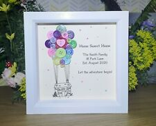 Personalised Framed New Home Gift