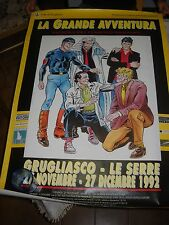 POSTER LOCANDINA MANIFESTO DYLAN DOG MISTER NO MARTIN MYSTERE NATHAN NEVER1992