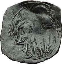 Michael VIII Palaeologus - Jesus Christ Archangel Michael Byzantine Coin i59378