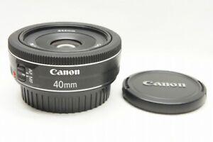 """""""MINT"""" Canon EF 40mm F2.8 STM AF Lens for EOS EF Mount #211014a"""