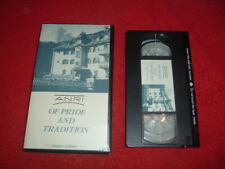 Anri Of Pride and Tradition, Dealer's Edition Video, Vcr Format, New, Mint