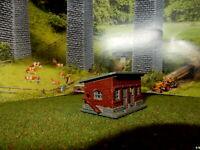 Hühnerstall mit Hühnerleiter RARITÄT Spur N C214
