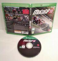 MOTO GP 18 - Jeu XBOX ONE - Pal française - Comme neuf (jamais utilisé)