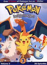 Pokemon: Indigo League, Vol. 3 (DVD, 2014, 3-Disc Set)