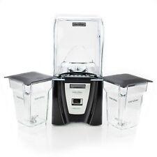 Blendtec Commercial Connoisseur 825 Blender + 2 FourSide Jars